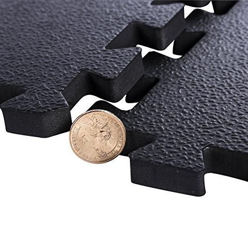 Baby Play Mat Fence Interlocking Foam Floor Tiles with Crawling Mat Playroom & | Color Infants, & Kids