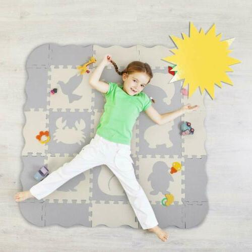 Puzzle Play Mat for Baby Toddler Kid Interlocking Foam Mats