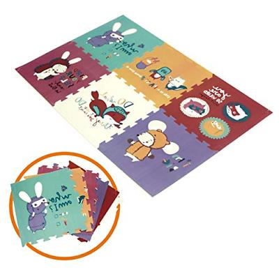 Baby Play mat Kid's Puzzle Exercise Play Mat for Floor Crawl