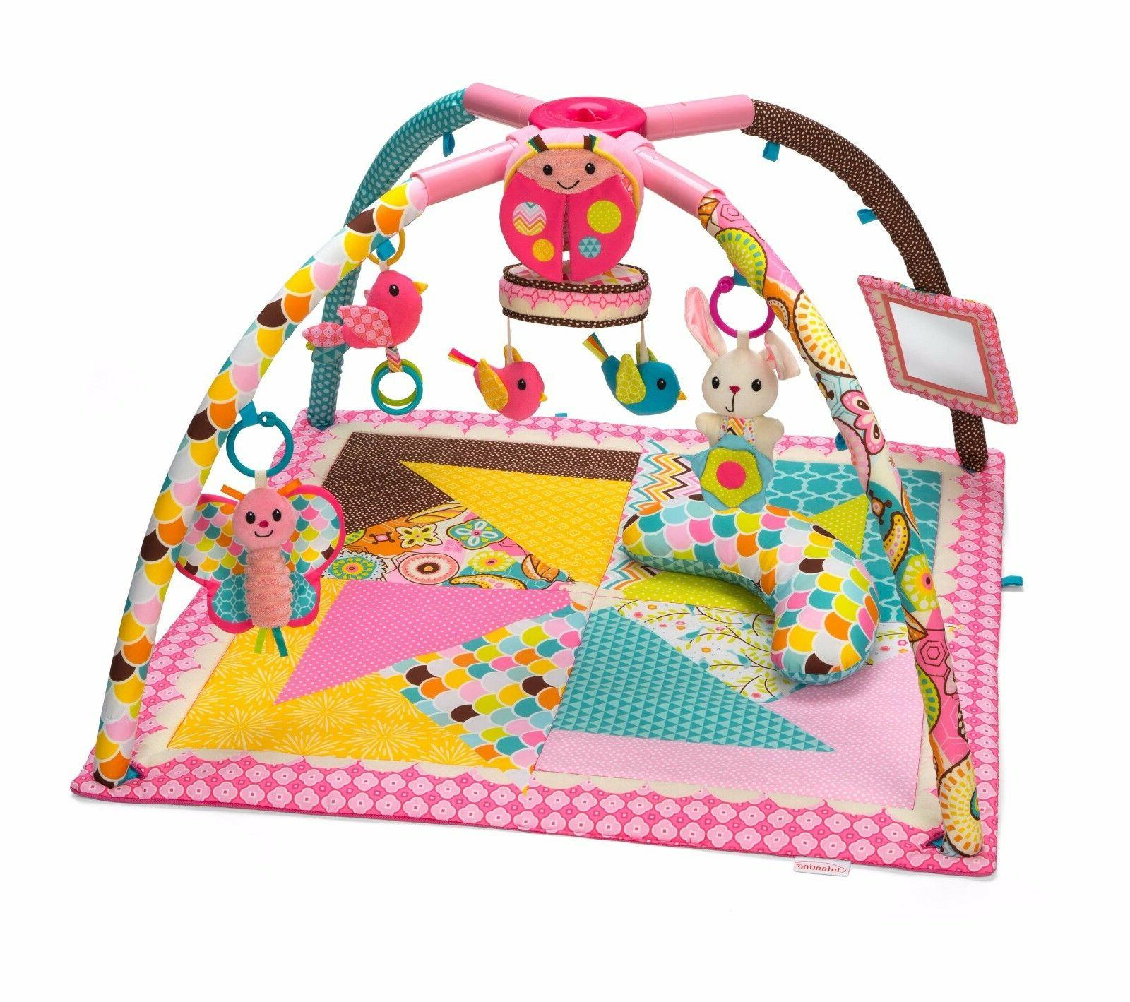 Baby Play Mats Gyms Music Infantino Go GaGa Deluxe and Fold Gym