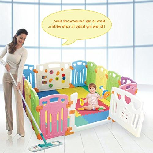 Baby Playpen Centre Safety 14 New