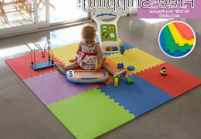 BBNet Play MAT Included Playard Pieces Children Activ...