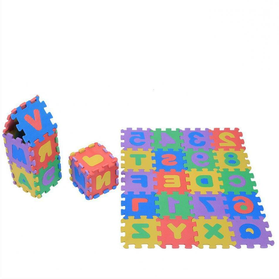 Baby Puzzle Mats Letters Carpet Crawling
