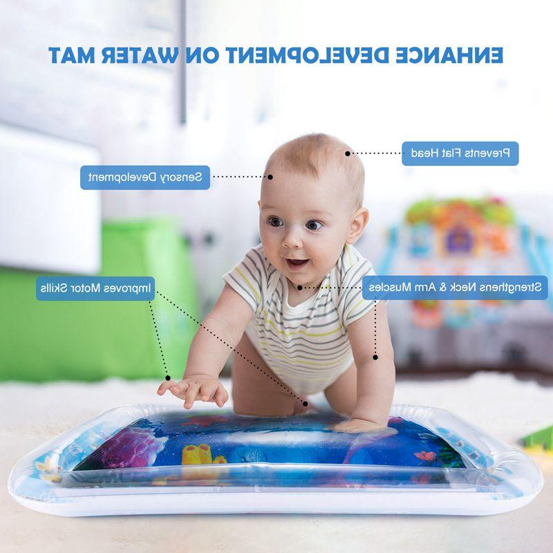 Baby Water Toys Watermat Inflatable <font><b>Time</b></font> Babies Toddler Water <font><b>Mat</b></font> Kids