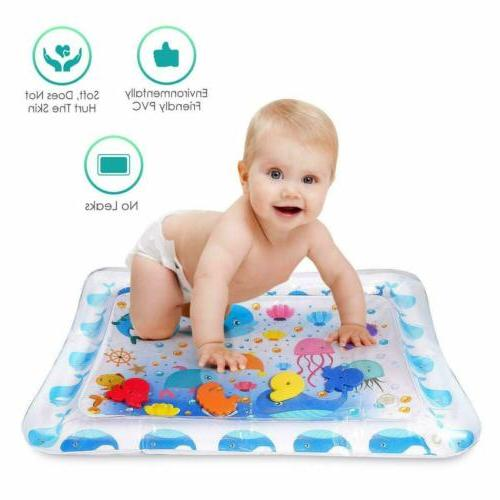 Baby Water Time Play Mat floor Activity Crawling Kids