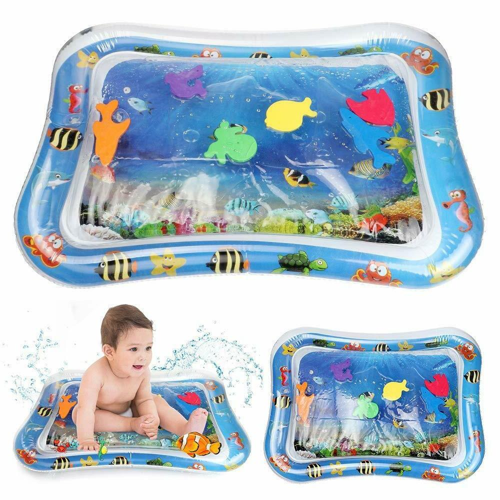 Baby Water Tummy Time Inflatable Play floor Activity Kids