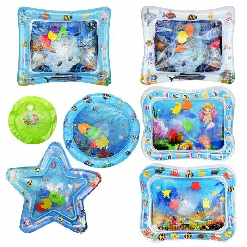 Baby Water Play Mat Toys Plastic Activity Game Pad Kids Educ