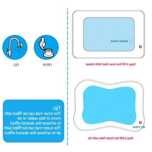 Tummy Baby Water Mat Inflatable Play Mat for 3-9 Months