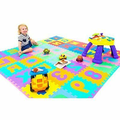 BRANDNEW Kids Puzzle Numbers, Tiles and Edges Play Mat, by