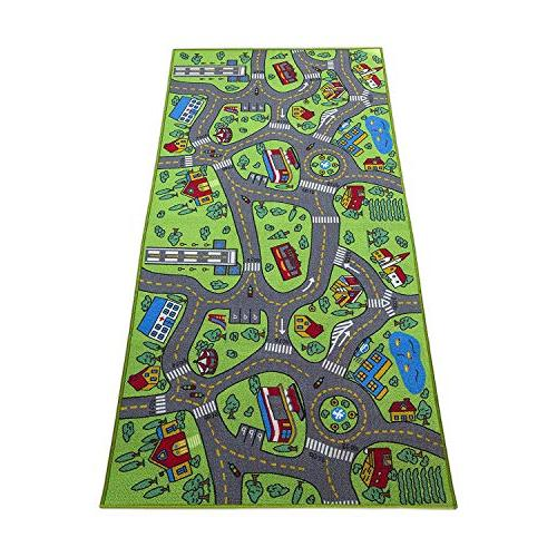 Kids Playmat City Life Extra Learn & Have Fun Safe, Traffic System, Activity Mat! Great For Playing Cars For