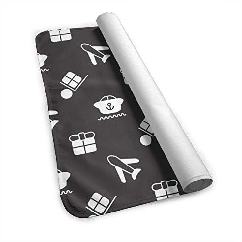 LXXYZ Changing Pad Delivery Seamless Portable Changing - Baby Showers and