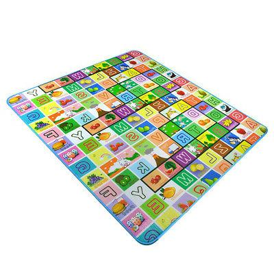 Child Baby Crawling Game Play Mat Rug