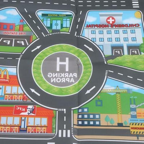 Children Road Play Mat Car Gifts LI