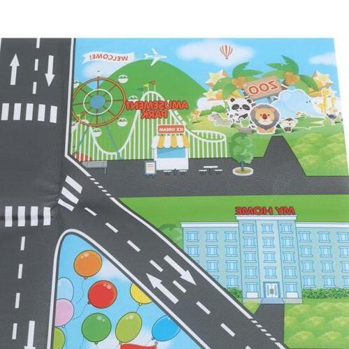 Children City Mat Road Rug Toys Gifts