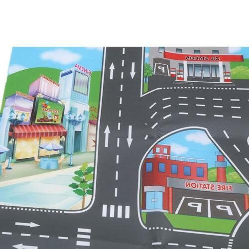 Children Mat Road Carpet Rug Playmat Gifts LI