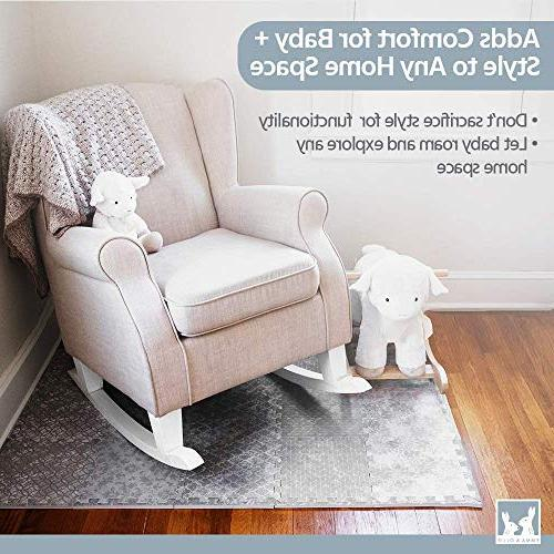Designer - Thick Playmat Baby Mat with Soft - Baby Floor Tiles for