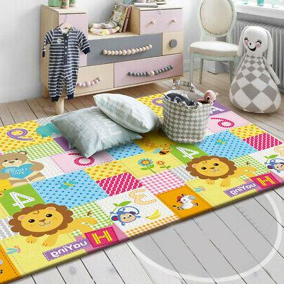 double sided baby crawling mat newborn infant
