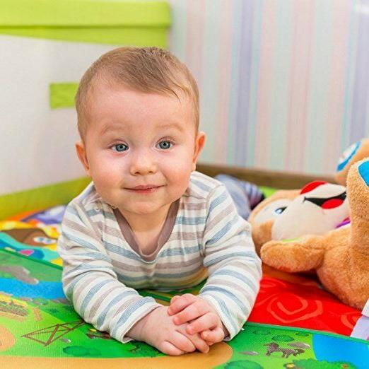 DOUBLE SIDED BABY CRAWLING PLAY MAT Extra 71*47