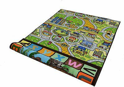 Double Kids Reversible Play Mat for Play