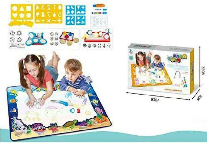 educational toys large kids play mat drawing