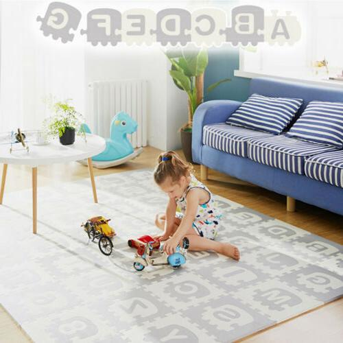 extra large kids puzzle play mat baby