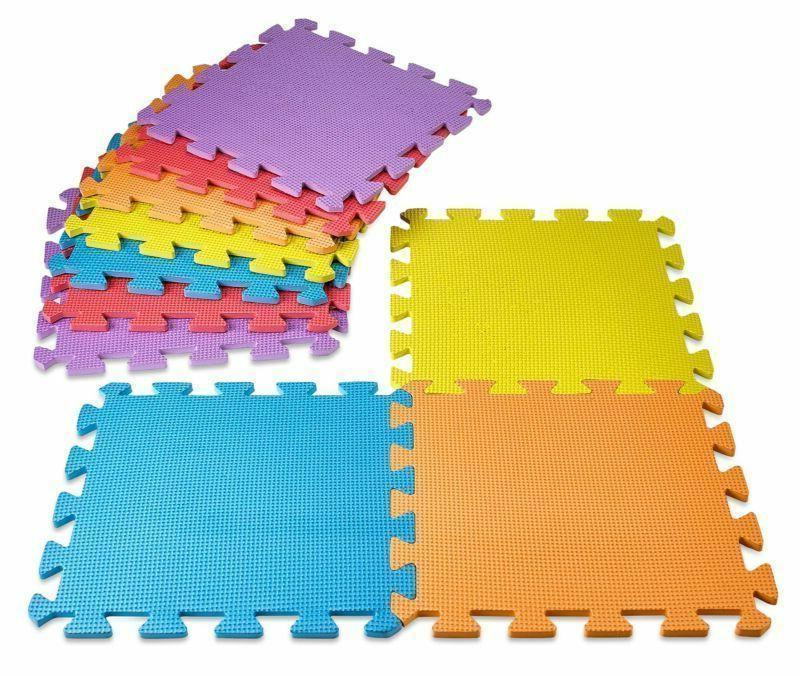 Floor Exercise Mat Solid Puzzle Playmat Playroom