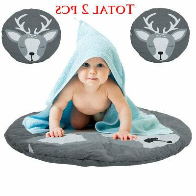Floor Rug Baby Kids Play Mat Crawling