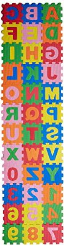 Baby Foam Play Mat  5x5 Inches Interlocking Alphabet and Num