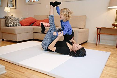 Baby Care Gym Mat - Folding Mat Non-Toxic Eco-Friendly SOFFKIN