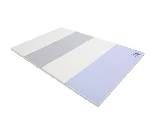 Baby Care Mat - Folding Play Non-Toxic Reversible Non-Slip Eco-Friendly SOFFKIN Leather