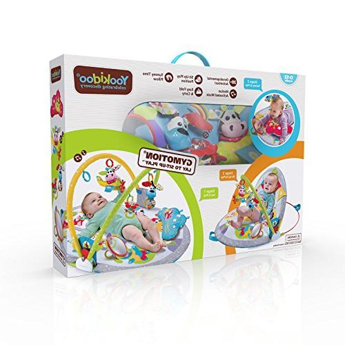 Yookidoo Gymotion Lay to Sit-Up Activity for Baby 0 12