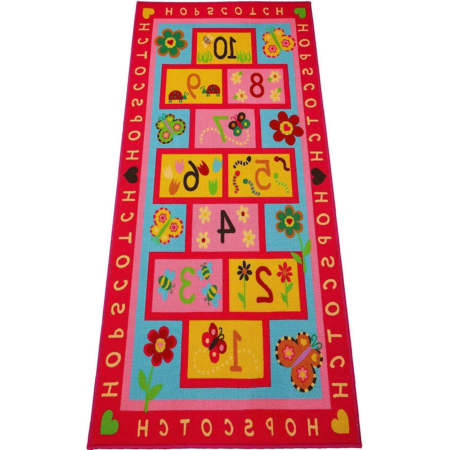 hopscotch rug play carpet educational and fun