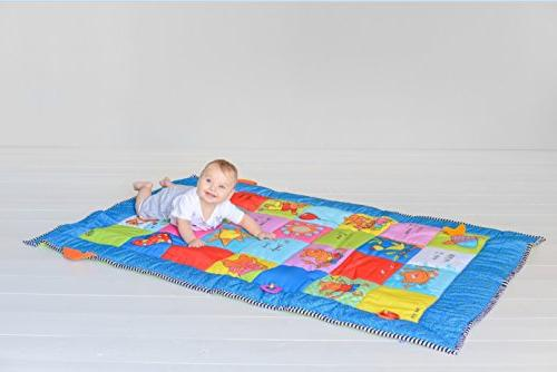 Mat Activity with Baby Plastc Rings,