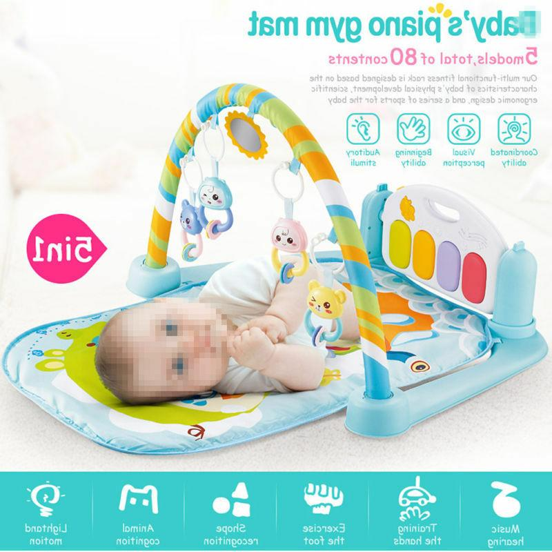 infant toddler baby play activity gym playmat