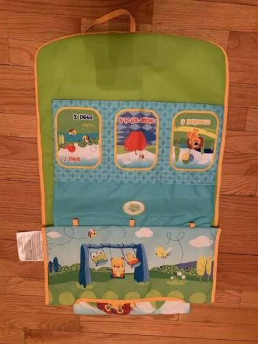 Bright Infant Toddler Baby Shopping Cart Play Mat