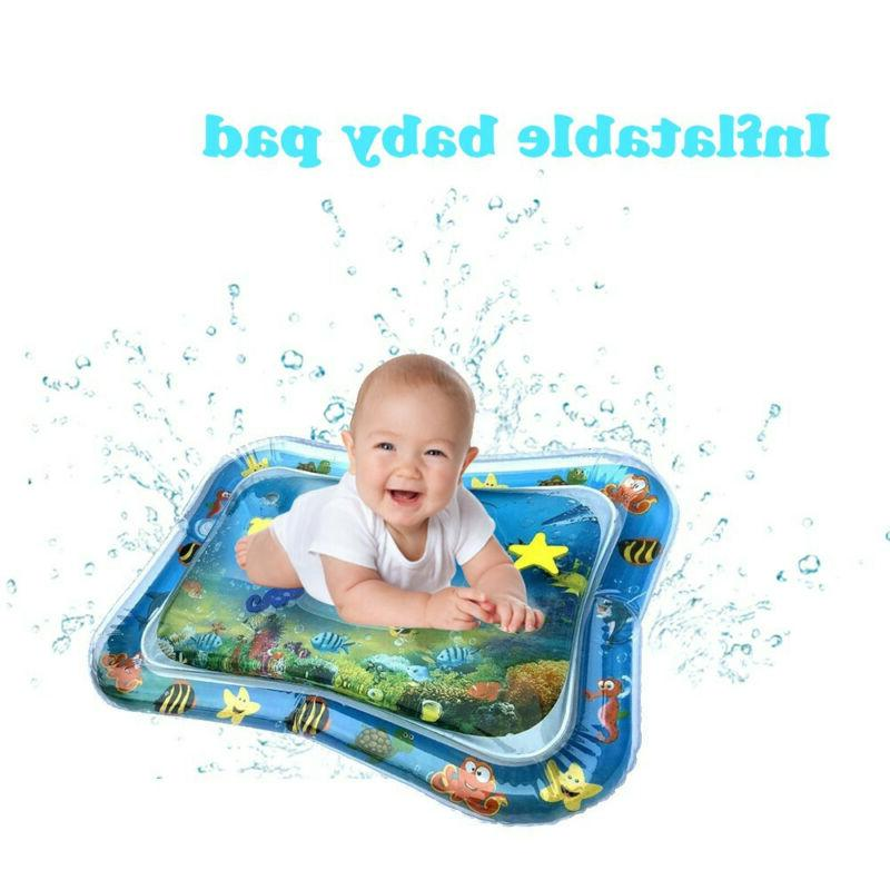 Inflatable Baby Water Mat Activity Play Center Fun For Kids