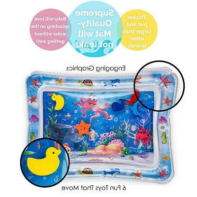 Inflatable Baby Water Mat Novelty Children Infants US