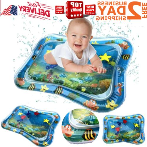 inflatable baby water mat play fun