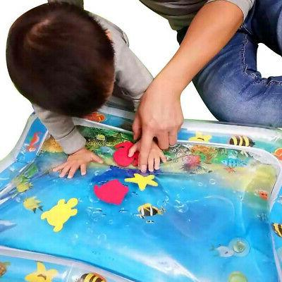 Inflatable Baby Water Mat Novelty Play Children Tummy Time
