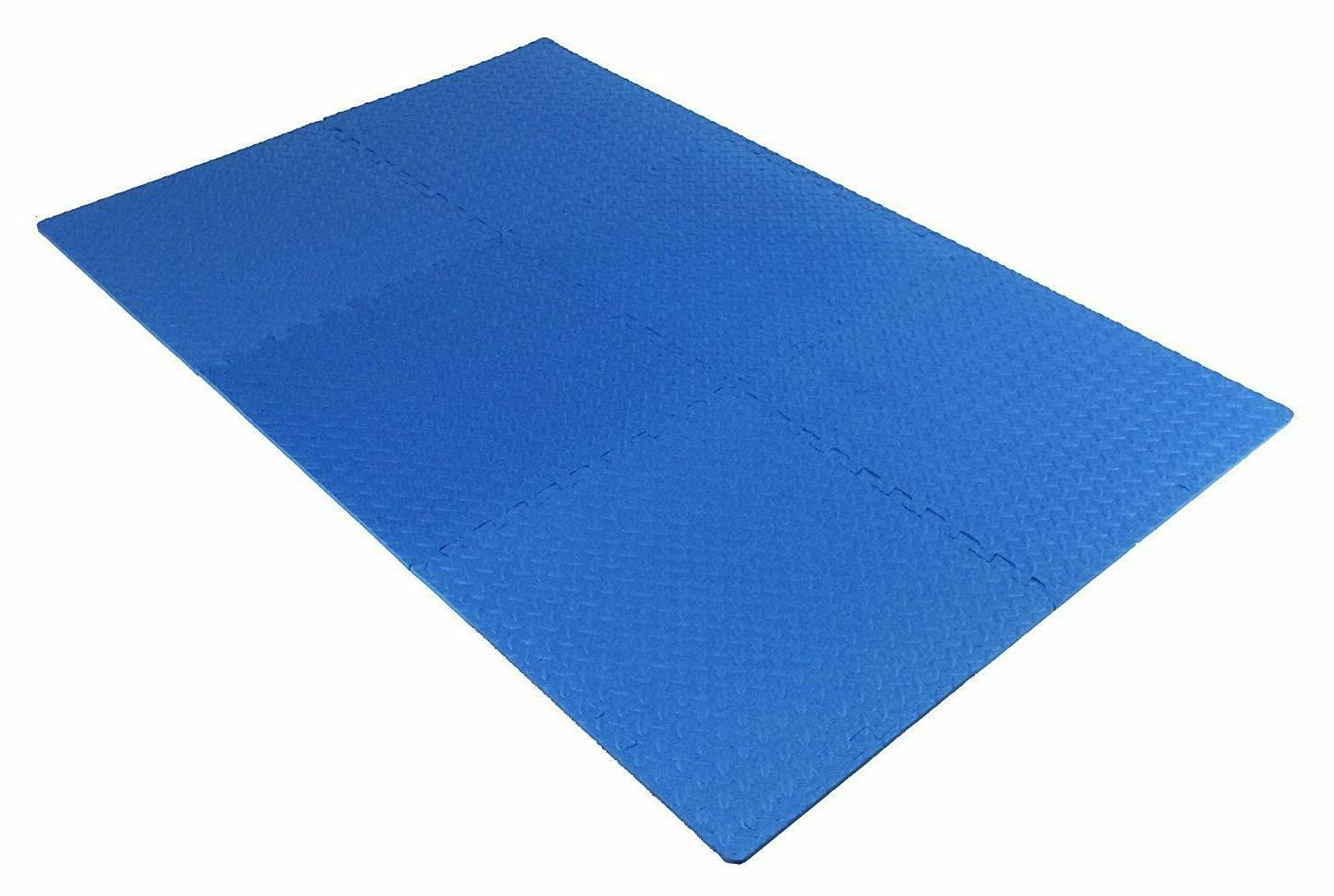 Interlocking Puzzle Gym Floor SQFt