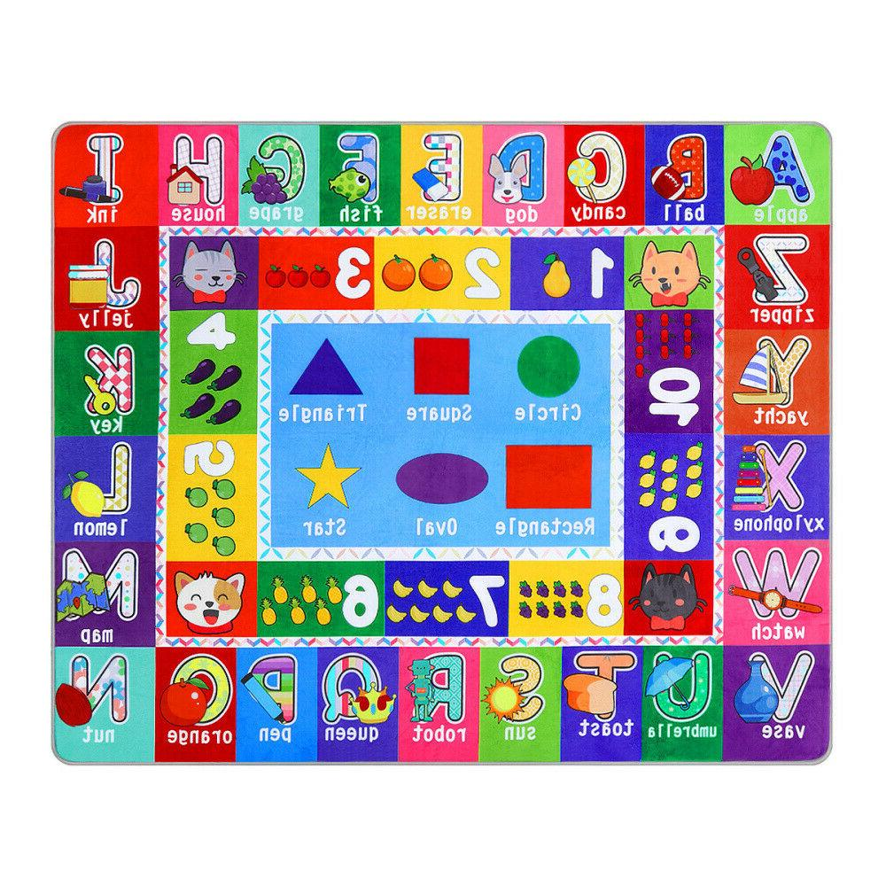 Kid's Puzzle Play Mat & Numbers &