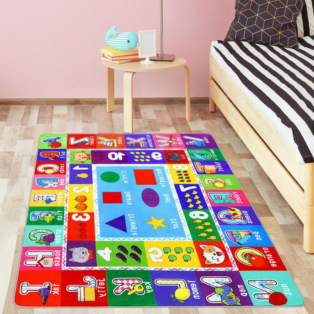 Kid's Puzzle Mat & Numbers & Graphics