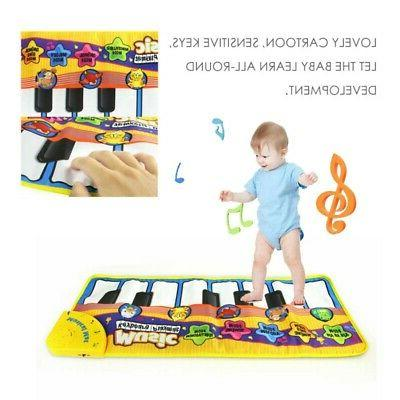 US Kids Baby Musical Piano Play Mat Boy Girl Development Edu