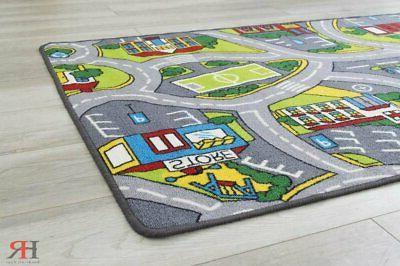 Kids Road City for Classroom/Baby Non-Slip Rubber...