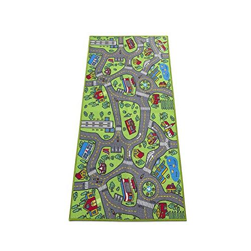 """Kids 80"""" 40"""" City Life - & Fun Children's Educational, System, Multi Play Mat Playing Playroom, Area"""