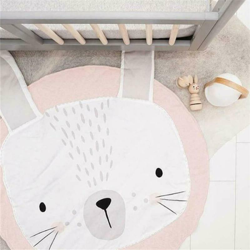 Kids Shaped Mat Carpet Rabbit Design Home
