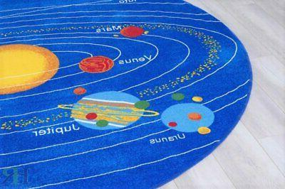 Kids Rugs Solar System For Classroom