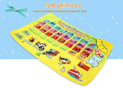 kids transportation sound english version alphabet carpet