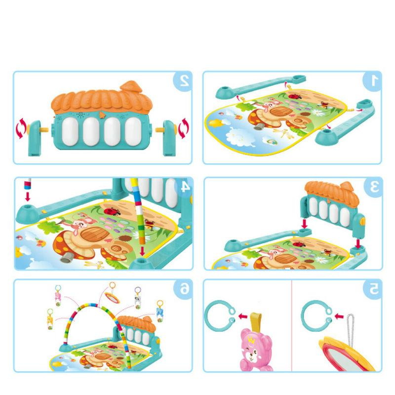 Large Baby Gym Play Mat Musical Piano US