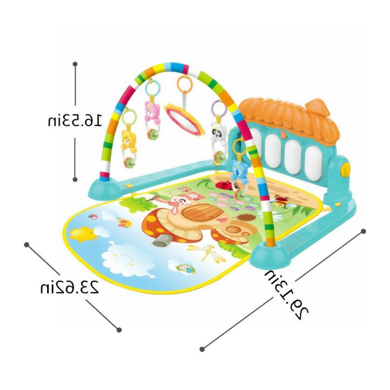 Large Baby Play Mat Musical Center Kick And Piano Toy